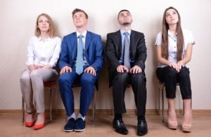 A job interview can be as awkward as a blind date