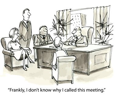 One way to prevent a meeting going off the rails is to get agreement on why the meeting was called