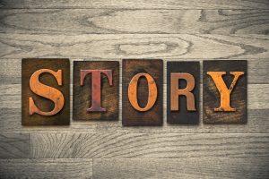 Story Concept Wooden Letterpress Type