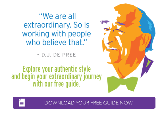 DJ De Pree - We Are All Extraordinary, Download Your Authentic Speaking and Presenting Guide