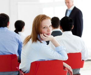 When does an audience stop listening to your presentation?