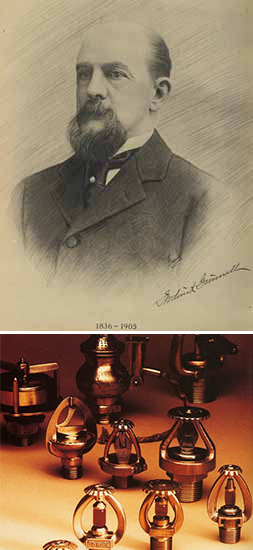 Fredrick Grinnell and his Automatic Sprinkler System