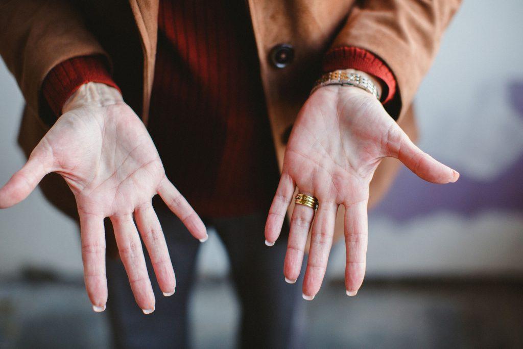 Hand Gestures - Lou Solomon's Hands