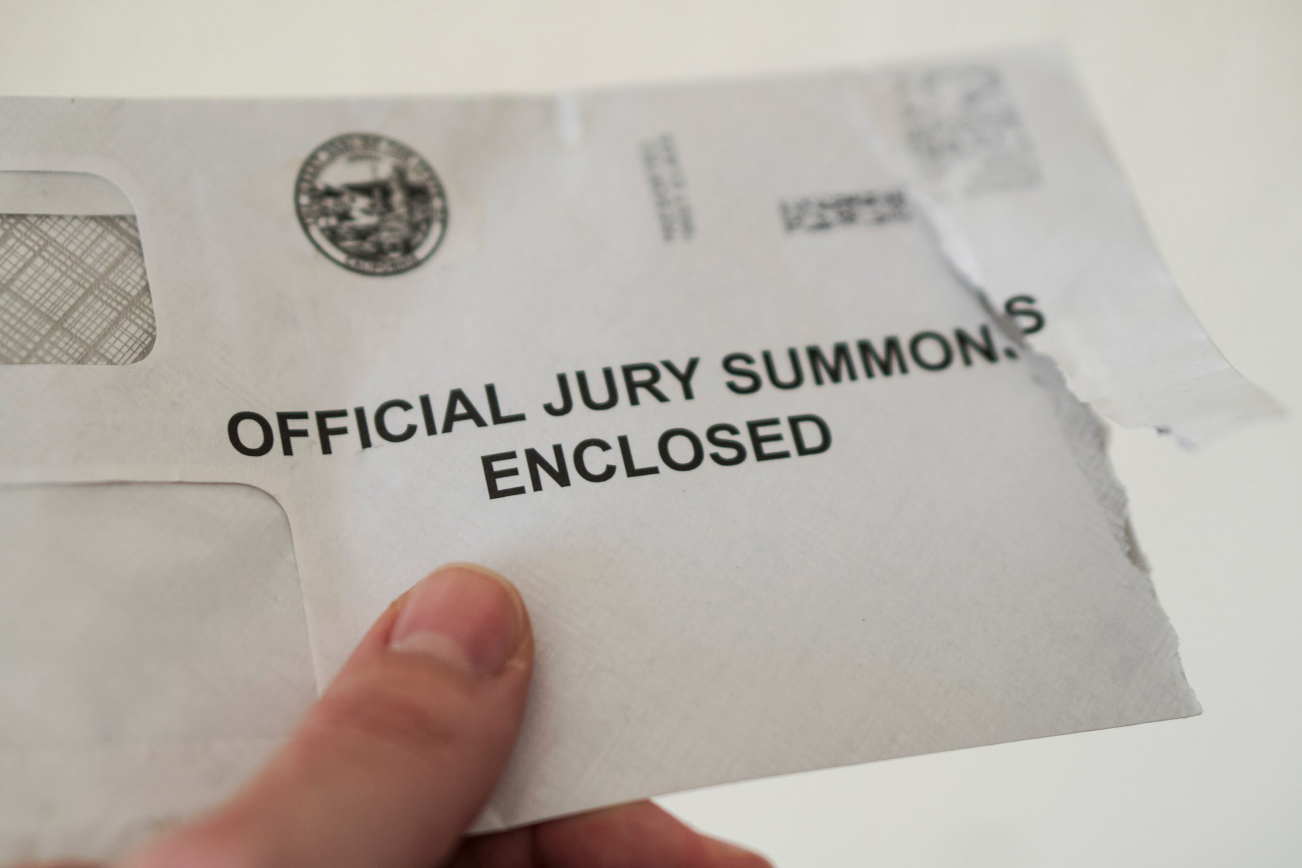 Jury Selection Duty summons